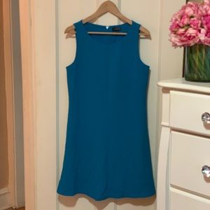 Fully Lined Limited Blue Dress